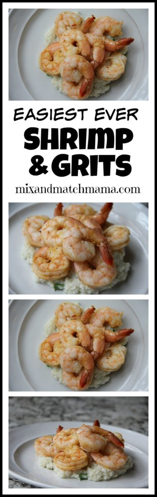 Easiest Ever Shrimp & Grits