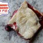 Strawberry & Blueberry Slab Pie