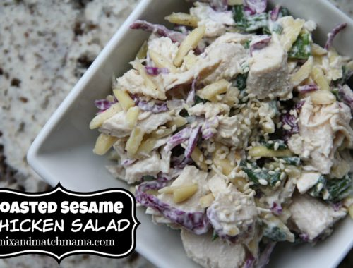 Toasted Sesame Chicken Salad