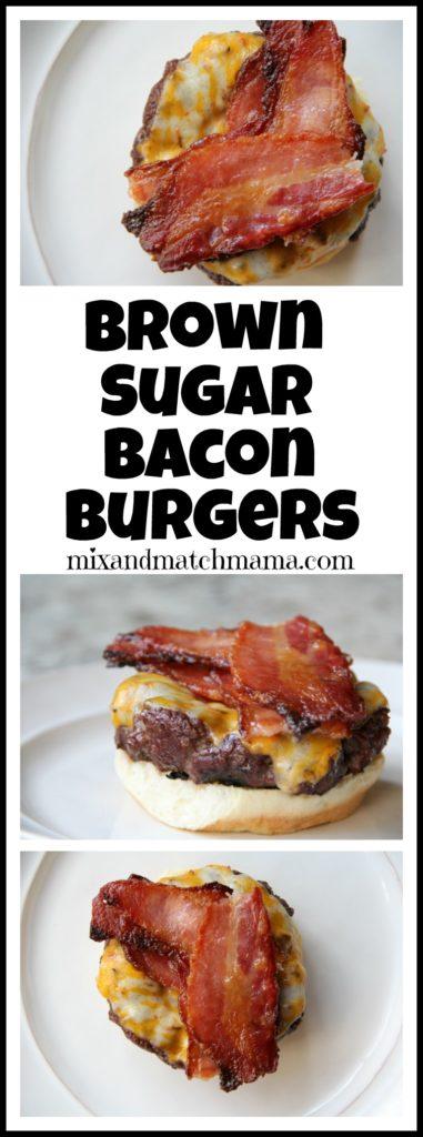 Brown Sugar Bacon Burgers