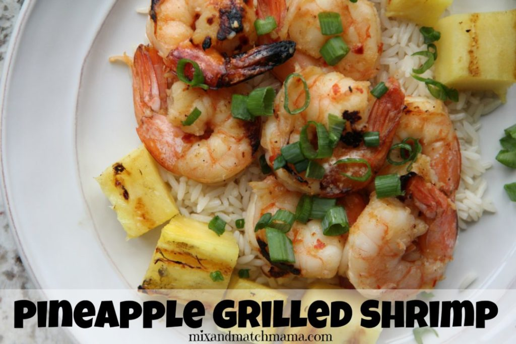 Pineapple Grilled Shrimp