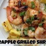 Pineapple Grilled Shrimp