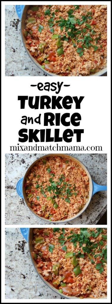 Turkey & Rice Skillet