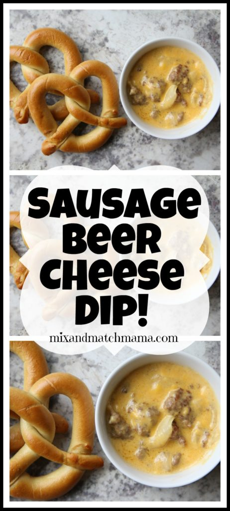 Sausage Beer Cheese Dip