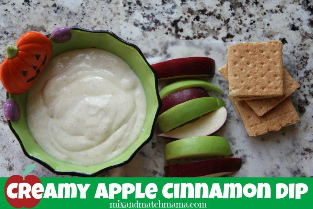 Creamy Apple Cinnamon Dip