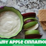 Creamy Apple Cinnamon Dip