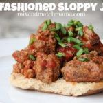 Old Fashioned Sloppy Joes