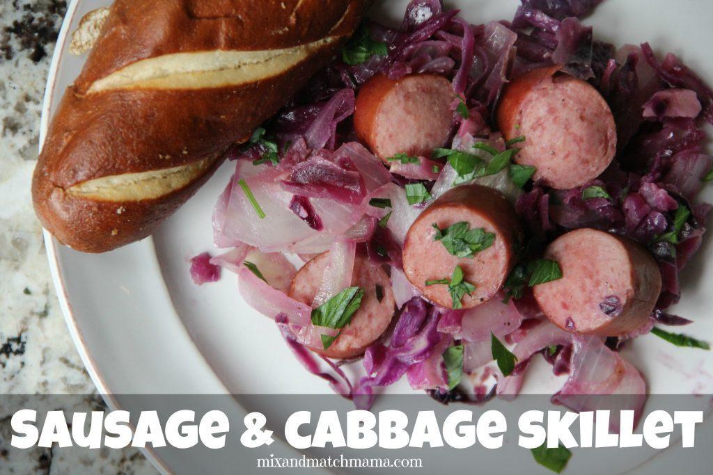 Sausage & Cabbage Skillet