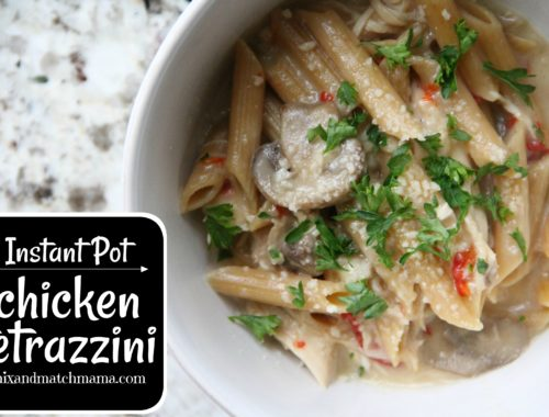 Instant Pot Chicken Tetrazzini