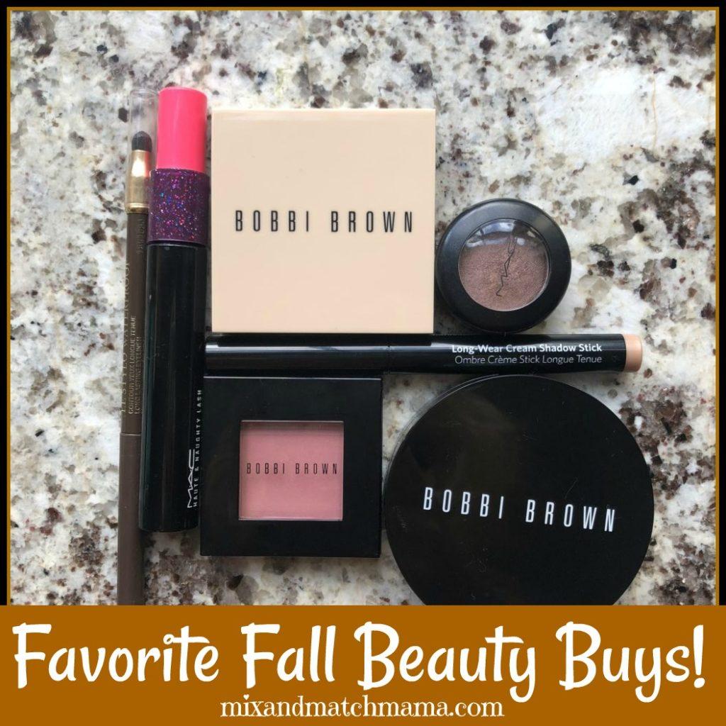 Favorite Fall Beauty Buys
