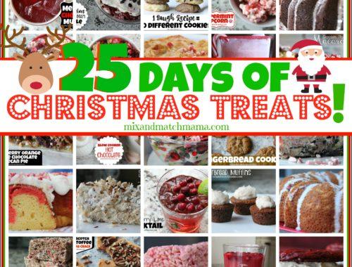 25 Days of Christmas Treats