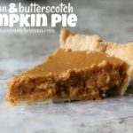 Bourbon & Butterscotch Pumpkin Pie
