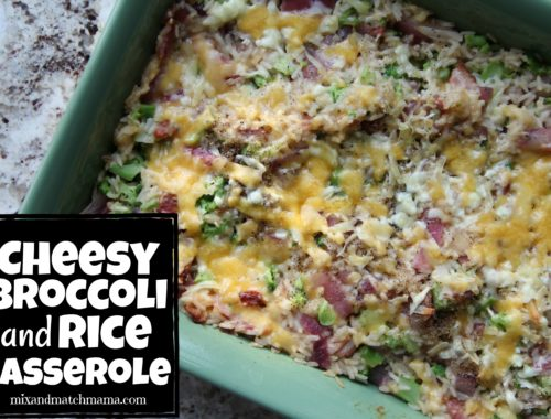 Cheesy Broccoli & Rice Casserole