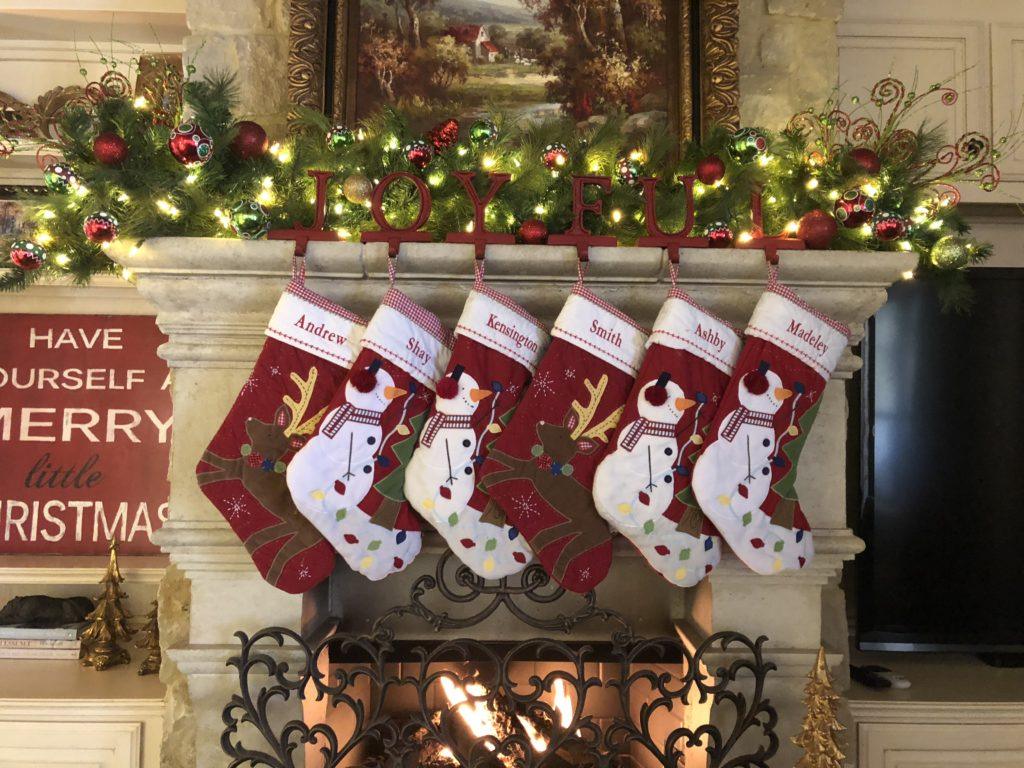 Whimsical, colorful characters and Christmas icons adorn this Quilted Stocking Collection for a bright and cheery addition to your holiday decor.