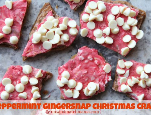Peppermint Gingersnap Christmas Crack