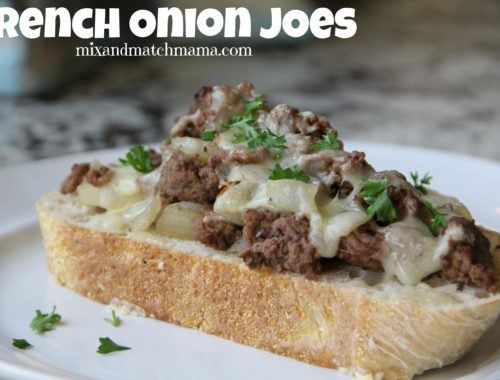 French Onion Joes