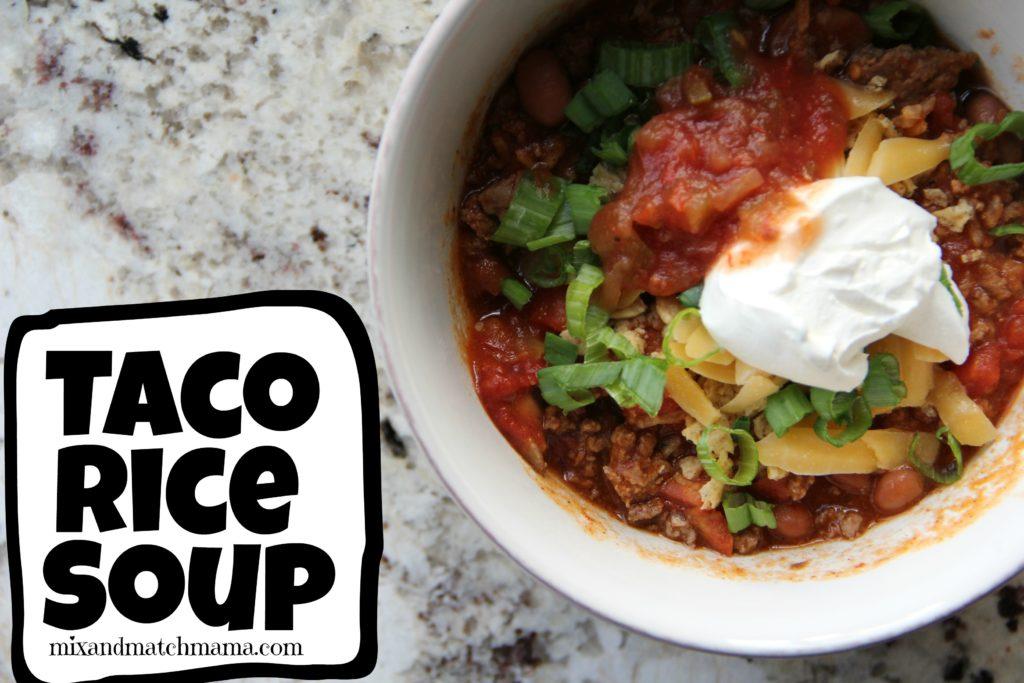 Taco Rice Soup