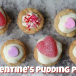 Valentine's Pudding Pies