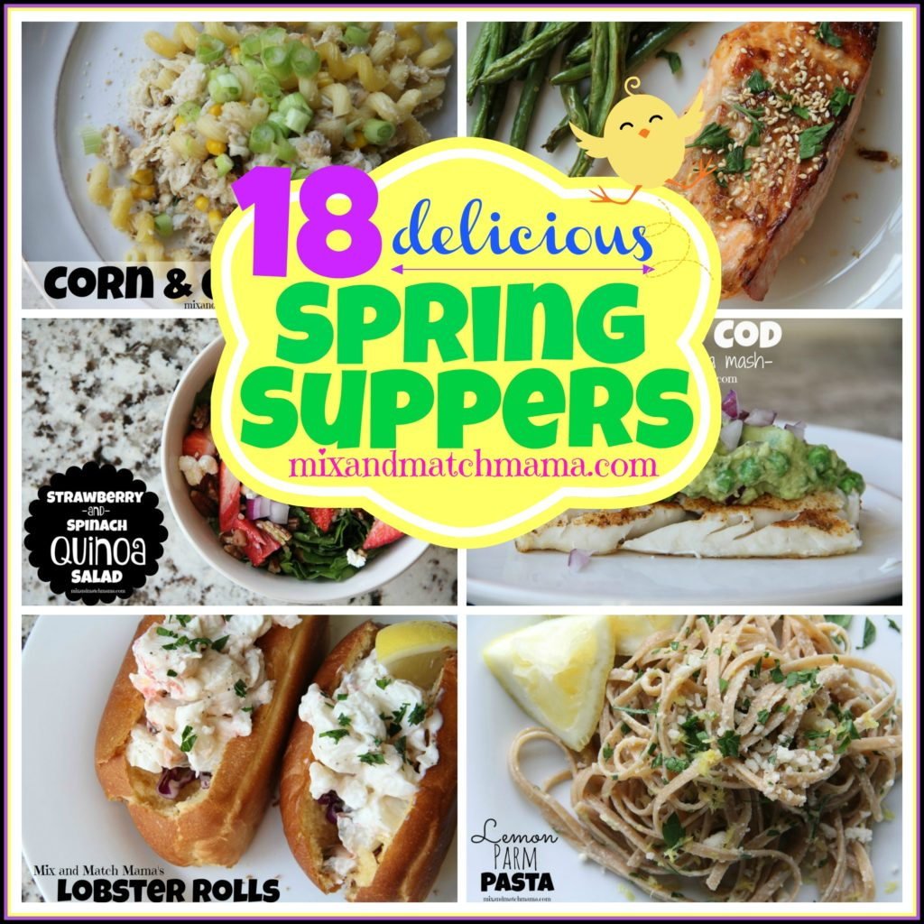 18 Delicious Spring Suppers
