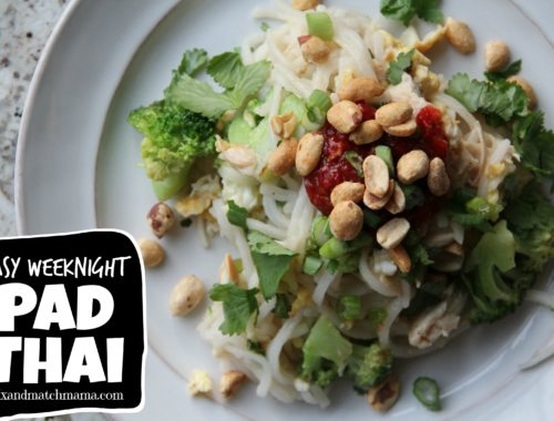 Easy Weeknight Pad Thai