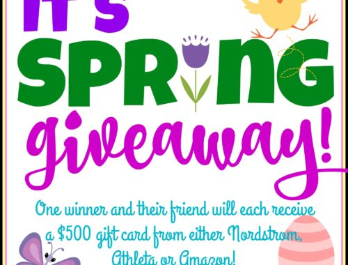It's Spring Giveaway!