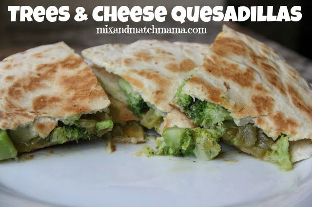Trees & Cheese Quesadillas