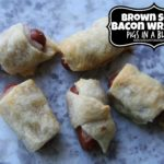 Brown Sugar Bacon Wrapped Pigs in a Blanket