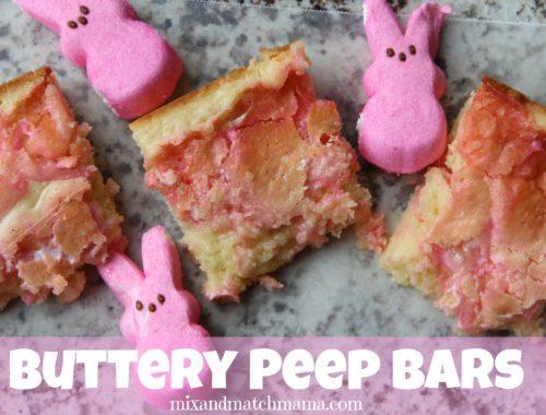 Buttery Peep Bars