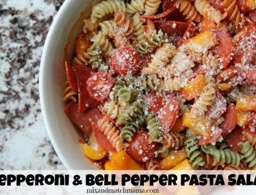 Pepperoni & Bell Pepper Pasta Salad