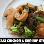 Teriyaki Chicken & Shrimp Stir Fry