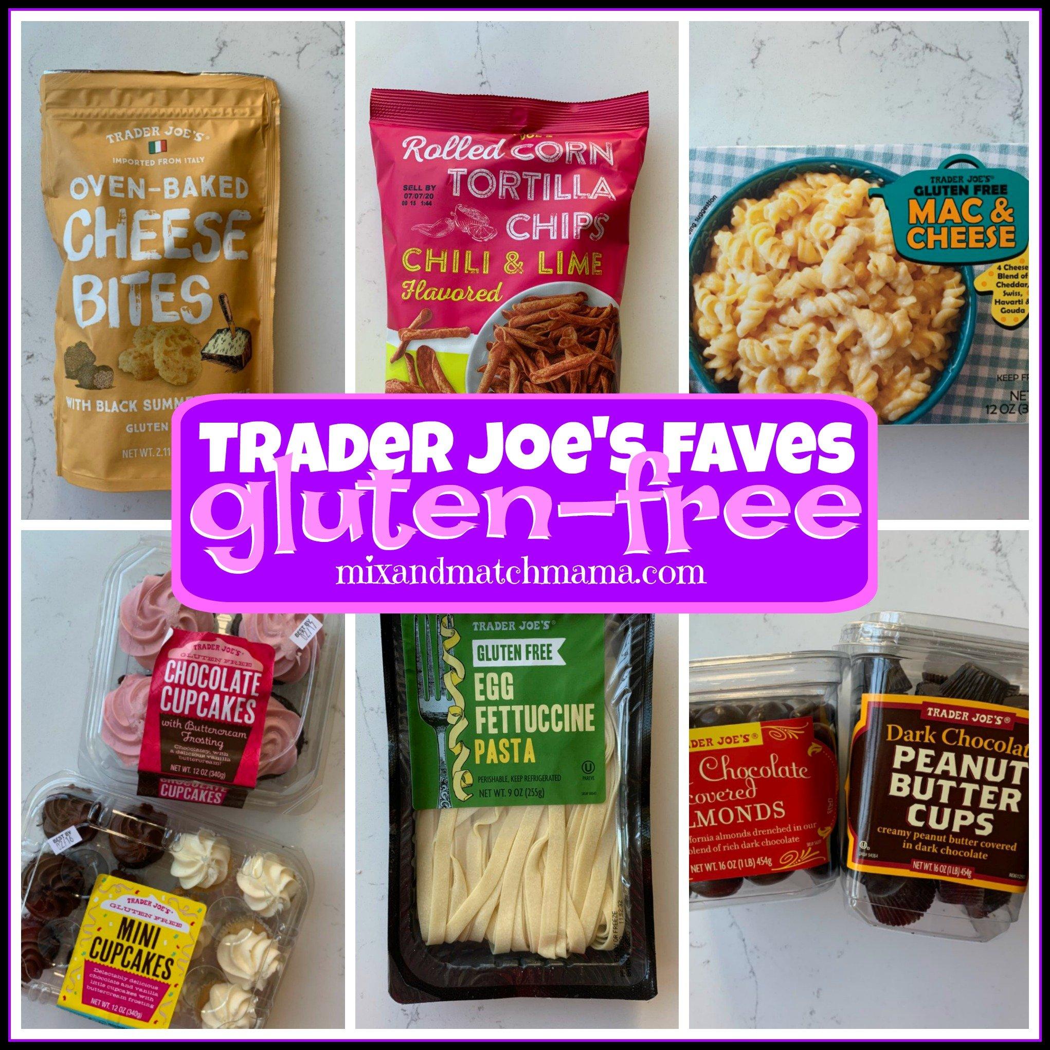 Trader Joe S Faves Gluten Free Mix Match Mama